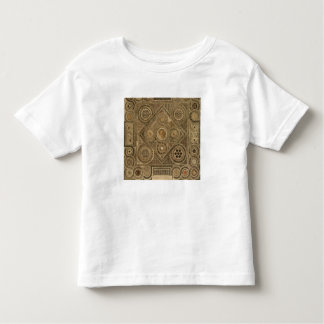 Mosaic Pavement Before the Altar, plate A from 'We Toddler T-Shirt