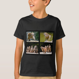 Mosaic photos of baboons T-Shirt