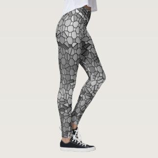 Mosaic Plaid Leggings