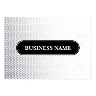 Mosaic Polygonal Modern Pattern Pack Of Chubby Business Cards