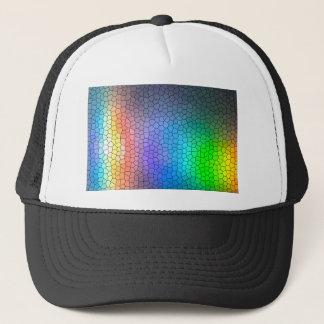 Mosaic Rainbow Trucker Hat