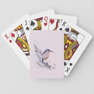 Mosaic Rock Wren Playing Cards