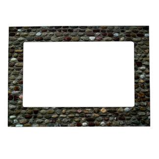 Mosaic Rocks Pattern Magnetic Frame