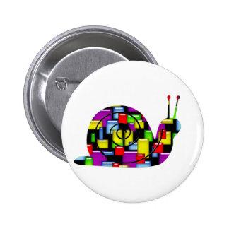 mosaic snail buttons