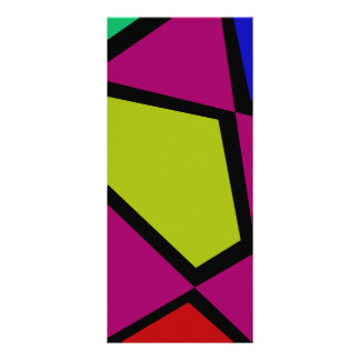 Mosaic Star Rack Cards
