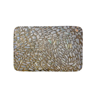 Mosaic Stone Bath Mat