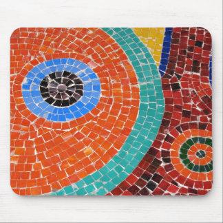 mosaic tile art mouse pad