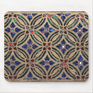 Mosaic tile pattern stone glass Moroccan photo Mouse Pad