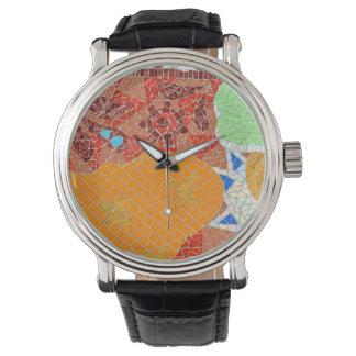 mosaic tiles faience broken pieces hone puzzle col watch
