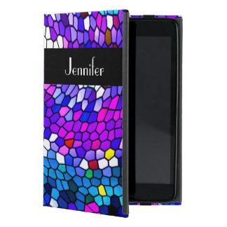Mosaic Tiles Pattern Personalized iPad Mini Case