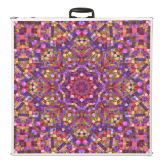 "Mosaic   Vintage Kaleidoscope 96""     Pong Table"