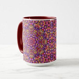 Mosaic Vintage Kaleidoscope Combo Mug