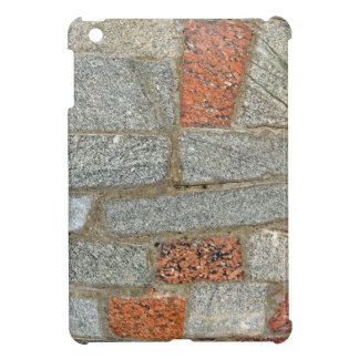 Mosaics made of large stone blocks of marble iPad mini cases