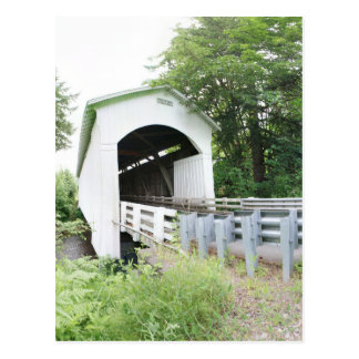 Mosby Creek Covered Bridge Postcard