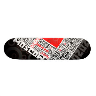 moscow board skateboard deck
