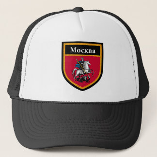 Moscow Flag Trucker Hat