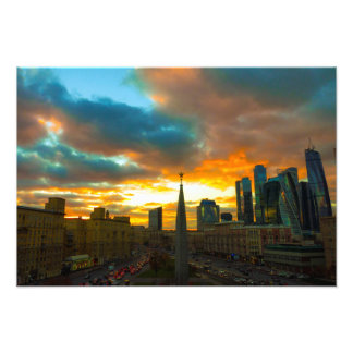 Moscow in Russia Photo Print