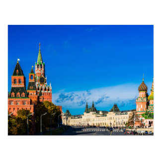 Moscow Kremlin and Red square Postcard