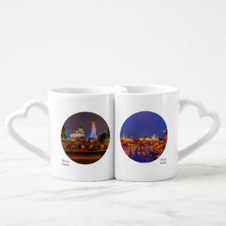 Moscow Kremlin Coffee Mug Set