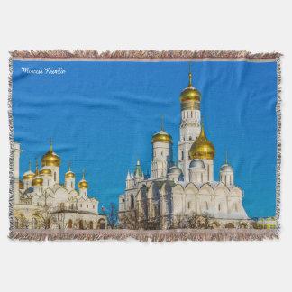 Moscow Kremlin Throw Blanket