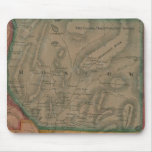Moscow, Maine 1860 Map - Mousepad