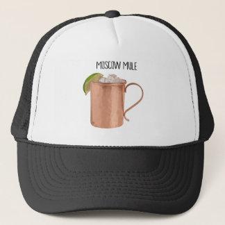 Moscow Mule Copper Mug Low Poly Geometric Design Trucker Hat