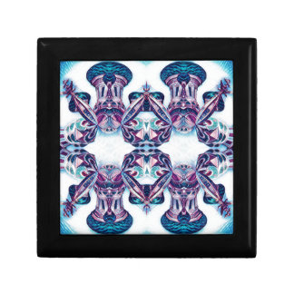 Moscow Painting Blue / Purple Gift Box