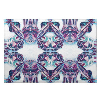 Moscow Painting Blue / Purple Placemat