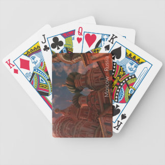 Moscow_russia Bicycle Playing Cards