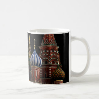 Moscow Russia Cathedral Gold Christmas Trees Mug