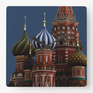 Moscow Russia Church Wall Clock
