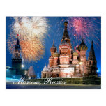 Moscow, Russia Postcard