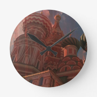Moscow_russia Round Clock