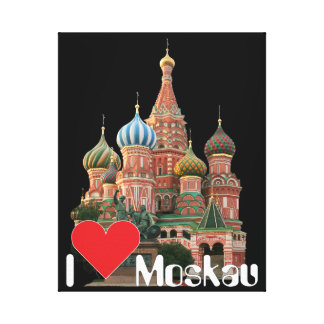 Moscow Russia Russia canvas Canvas Print