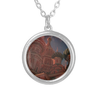 Moscow_russia Silver Plated Necklace