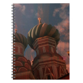 Moscow_russia Spiral Notebook