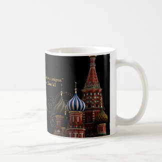 Moscow Russia St. Basil's Cathedral Churchill Mug