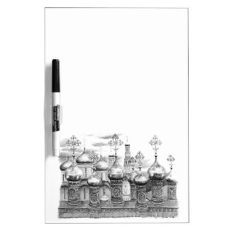 Moscow the Kremlin design by Schukina g048 Dry Erase Whiteboards