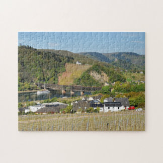 Moselle bridge with Bullay Jigsaw Puzzle