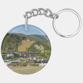 Moselle bridge with Bullay Key Ring