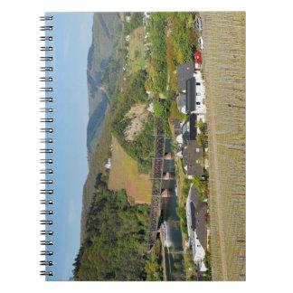 Moselle bridge with Bullay Notebook