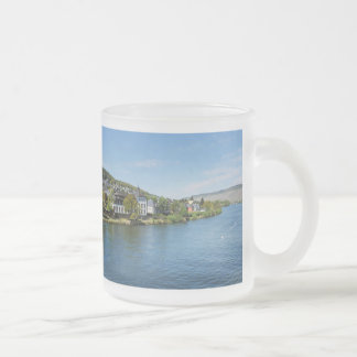 Moselle in Bernkastel Kues Frosted Glass Coffee Mug