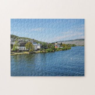 Moselle in Bernkastel Kues Puzzles