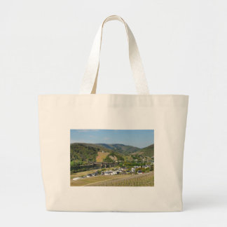 Moselle valley with Bullay Large Tote Bag