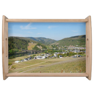 Moselle valley with Bullay Serving Tray