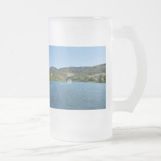 Moselle with Andel Frosted Glass Beer Mug