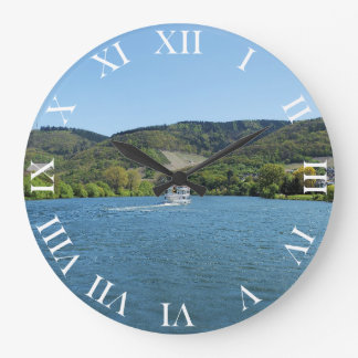 Moselle with Andel Large Clock