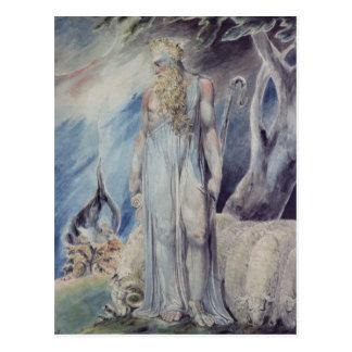 Moses and the Burning Bush Postcard