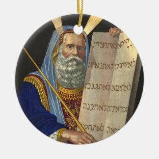 ''Moses and the Ten Commandments'' ornament