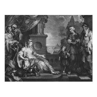 Moses brought to Pharoah's Daughter, c.1752 Postcard